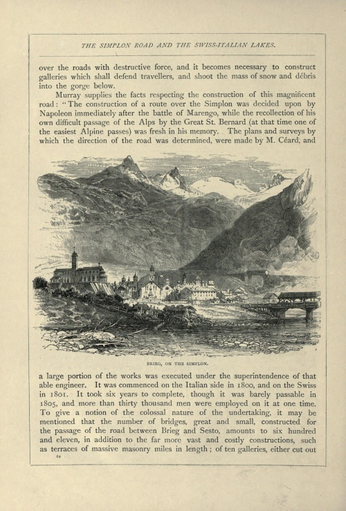 Swiss pictures drawn with pen and pencil (ca. 1879) (141 работ)