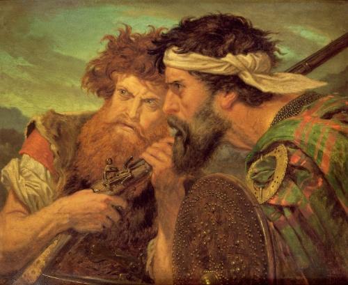 Художник Sir Joseph Noel Paton (1821-1901) (140 работ)