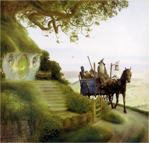 Tolkien art by John Howe (68 работ)