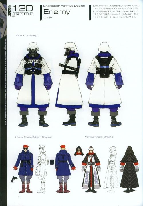 Xenosaga Episode II - The Complete Graphics (166 работ)