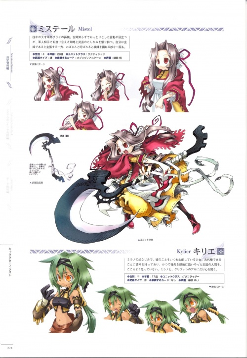 Yggdra Union Tour Guide Artbook (53 работ)