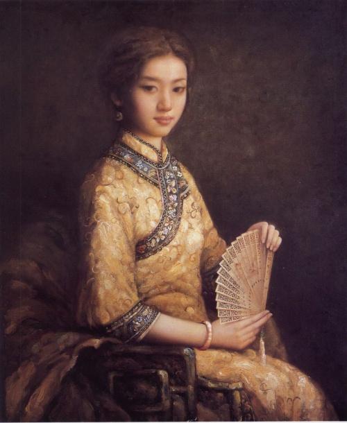 Китайский художник Zhao Chun (87 работ)