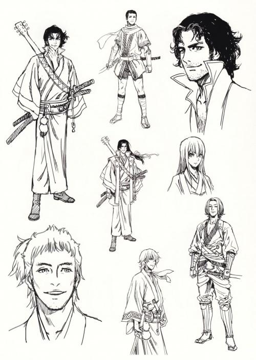 One Voice Shunya Yamashita anthology III - Artbook (110 работ)
