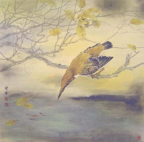 Китайский художник Zou Chuanan (63 работ)