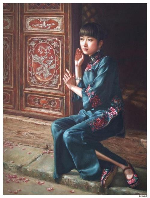 Китайская художница Xu Fang (31 работ)