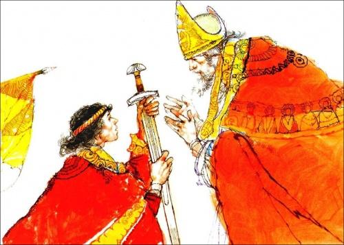 Иллюстрации Виктора Амбруса (Victor Ambrus) (71 работ)