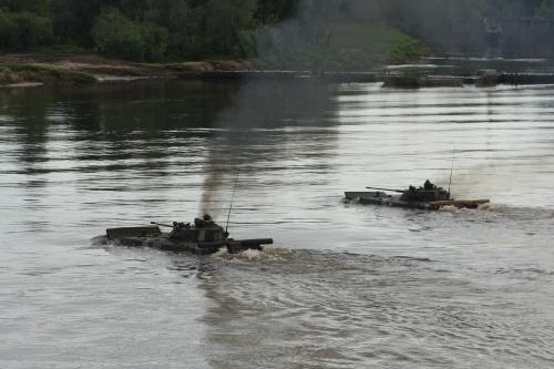Военные учения на Гороховецком полигоне в 2010 году (47 фото)