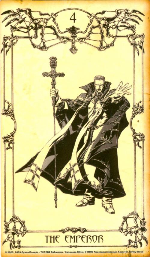 "Taro Cards ""Trinity Blood"" (29 работ)"