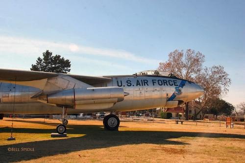 Американский стратегический бомбардировщик Boeing B-47E Stratojet (56 фото)
