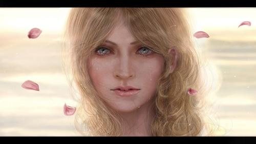 Aeris Gainsley - портретное искусство и цифровая живопись (ник Ashley) (54 работ)