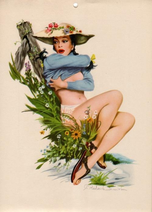Художник - иллюстратор J.Frederick Smith (145 работ)