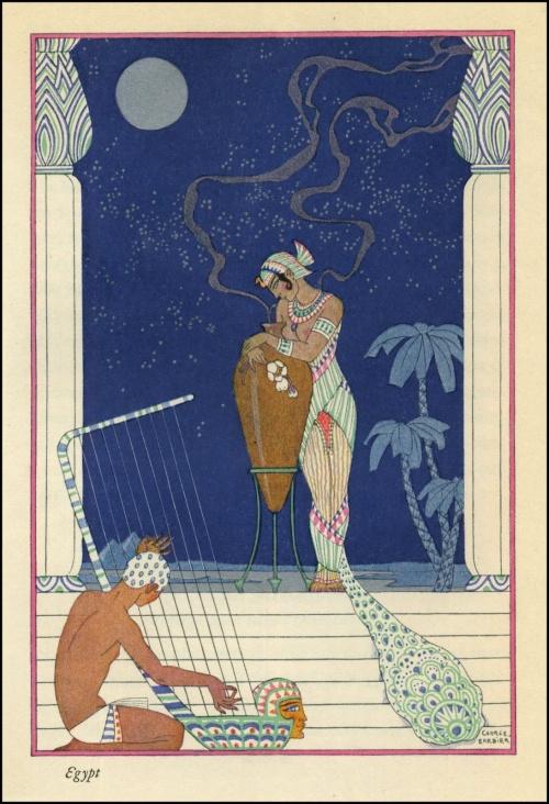 Французский художник Georges Barbier (1882–1932) (355 работ)