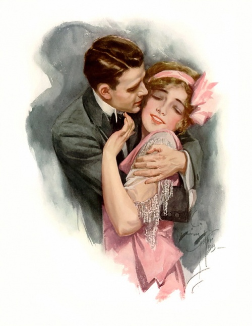 Первый иллюстратор журнала Cosmopolitan Harrison Fisher (411 работ)