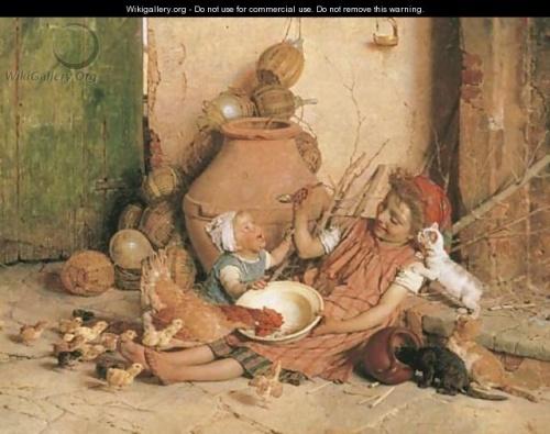Работы итальянского художника Gaetano Chierici (33 работ)