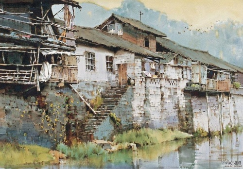 Художник Huang Xiangyang (15 работ)