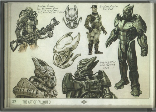 The Art of Fallout 3 (99 работ)