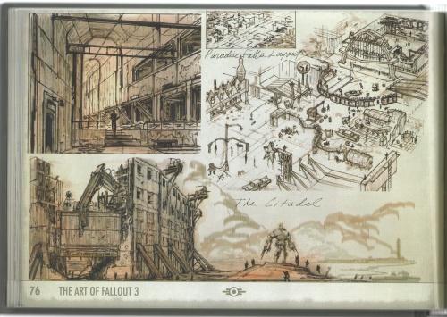 The Art of Fallout 3 (99 работ)