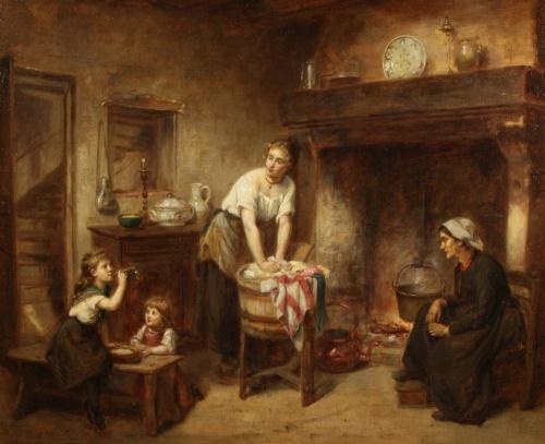 Художник Leon Emile Caille (1836-1907) (19 работ)