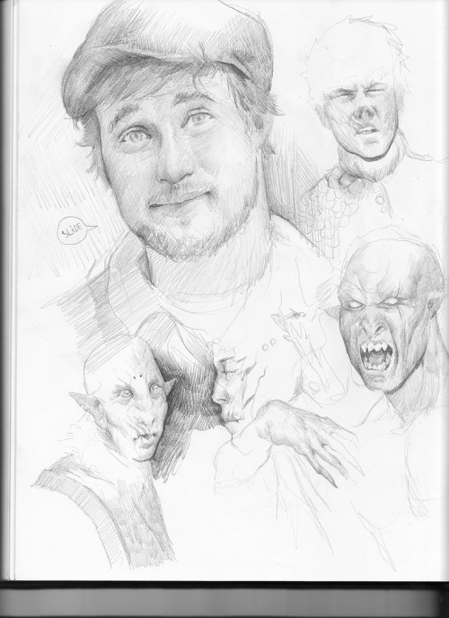 Майк Азеведо (Mike Azevedo ) - фэнтези персонажи художника из Бразилии (ник PkLklMike) (107 работ)