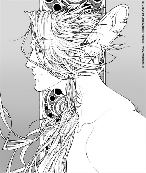 Michelle Hoefener - яркие фэнтези персонажи (89 работ)