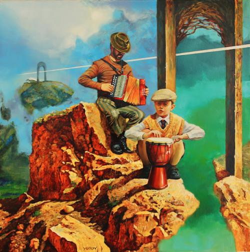 Болгарский художник Miroslav Jotov (43 работ)