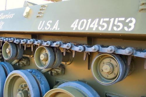 Американская противотанковая САУ M18 Hellcat (57 фото)