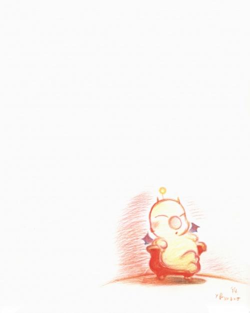 Yoshitaka Amano - Japan Final Fantasy (112 работ)