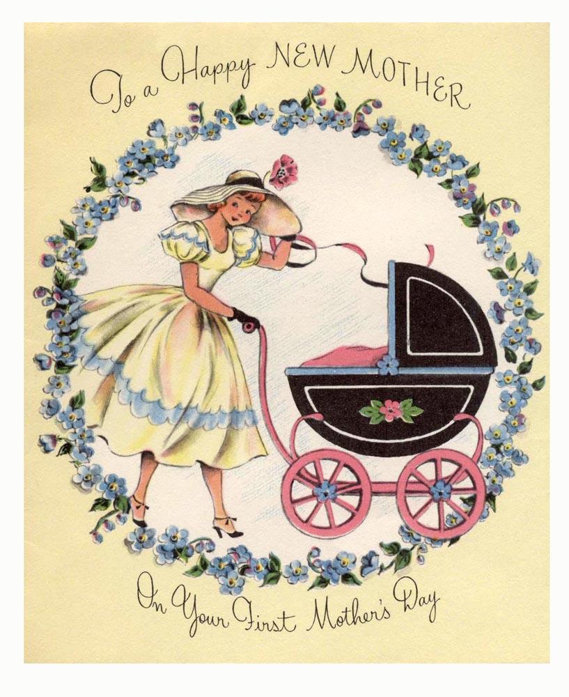 Старинные открытки с днем рождения сына маме