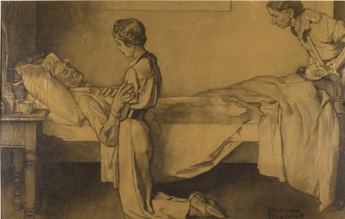 Американский художник и иллюстратор Norman Rockwell (работ)