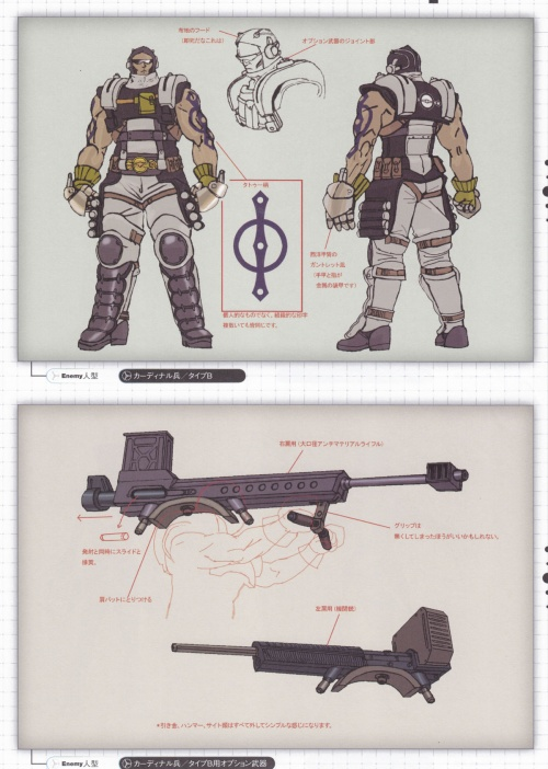 Resonance of Fate Artbook (99 работ)