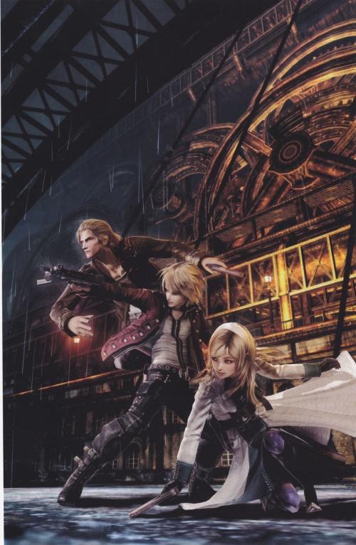 Resonance of Fate Artbook (99 работ)