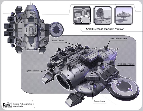 Sci Fi Art. Ships and Mechs (69 работ)