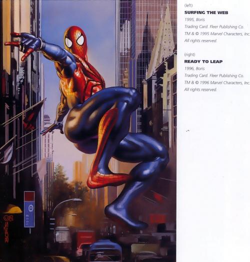 "Boris Vallejo & Julie Bell ""Superheroes"" (152 работ)"
