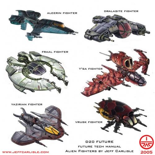 ArtWork: Sci-fi. Spaceship (72 работ)