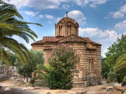 Православные монастыри, храмы, фрески, пейзажи (305 фото)