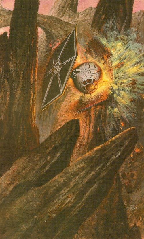 StarWars - Dark Forces Book (3 тома) (81 работ)