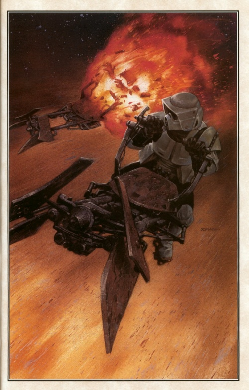 StarWars - Dark Forces Book (3 тома) (81 работ)