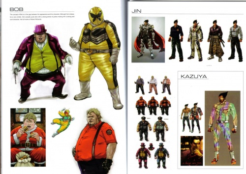 Limited Edition Tekken 6 Art Book (75 работ)