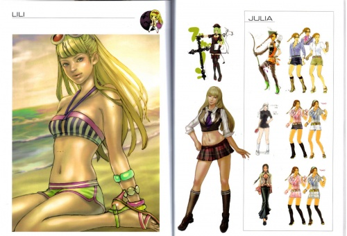 Limited Edition Tekken 6 Art Book (75 работ)