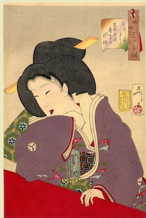 Yoshitoshi (32 Aspects of Women) \ 32 момента из жизни женщины (32 работ)
