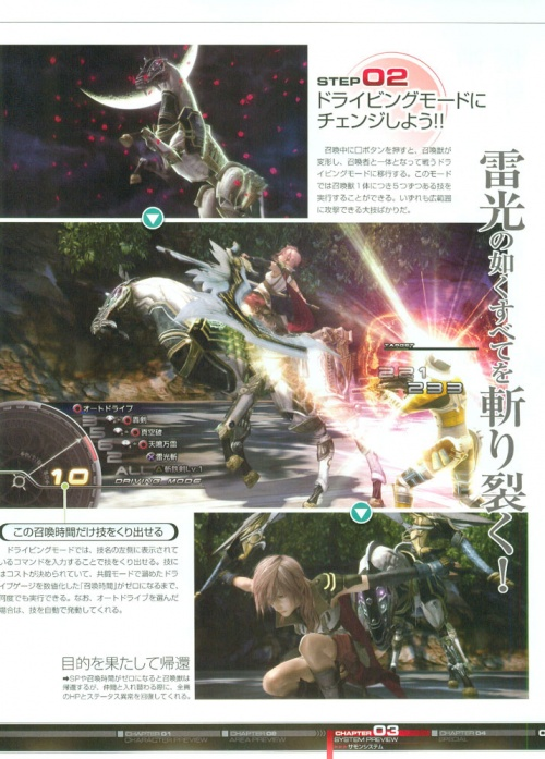 Final Fantasy XIII The World Preview (164 работ)