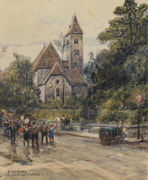 Vintage watercolors \ Старинные акварели (31 работ)