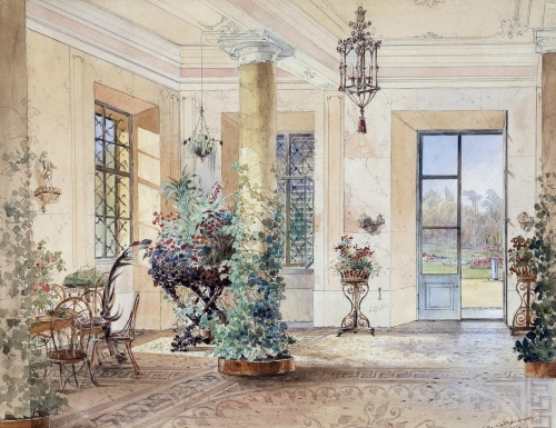 Vintage watercolors  Старинные акварели (31 работ)