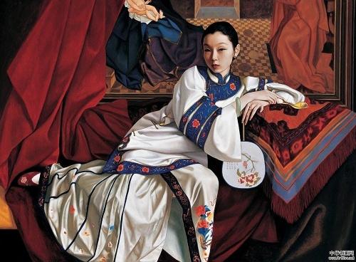 Девушки из Поднебесной Xue Yanqun (195 работ)