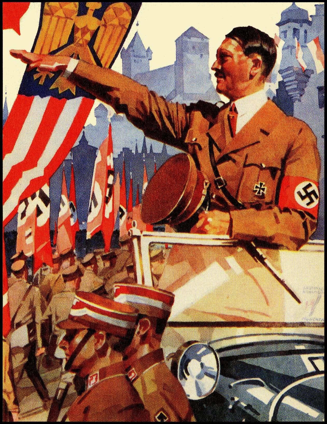 nazi germany totalitarian state