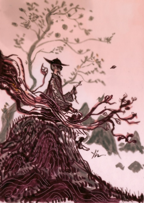 Удивительные картины китайского художника Кьян Йи (Qian Yi) (8 работ)