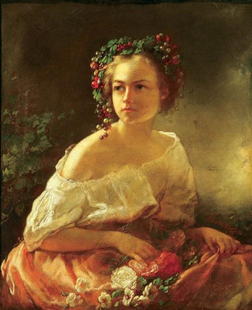 Женский образ в живописи 18-20 веков часть 9 (89 работ)