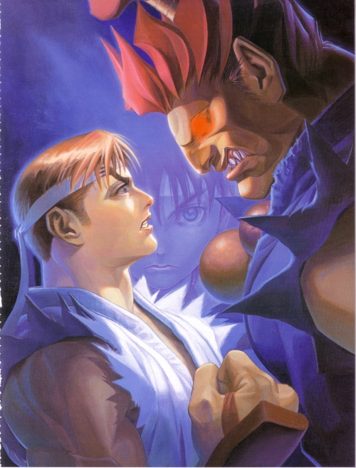 Street Fighter II Eternal Challenge Artbook (97 работ)