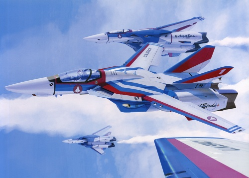 "АртБук ""Valkyries - Art Works of Macross"" (64 работ)"