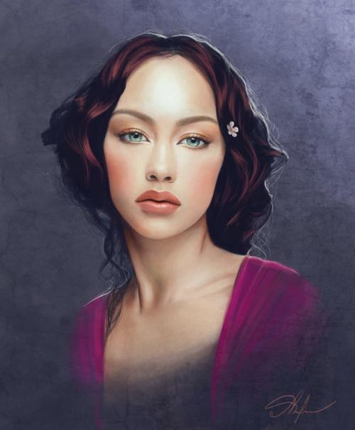 Портреты в стиле фэнтези от Adelenta (56 работ)